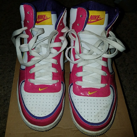 Colorful, Vintage Nike Indee High Tops